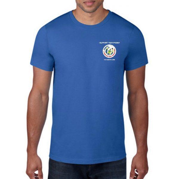 Men's T-Shirt - 'I Support Team Foggy' Blue