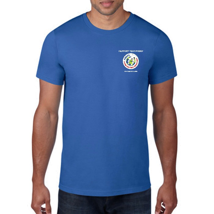 Men's T-Shirt - 'I Support Team Foggy' Blue