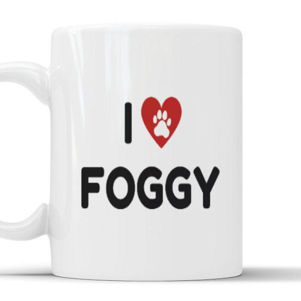 Mug - I Love Foggy