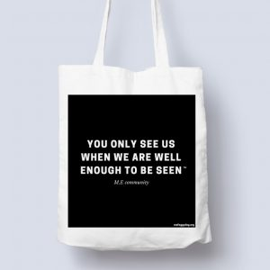 Tote Bag - You Only See Us
