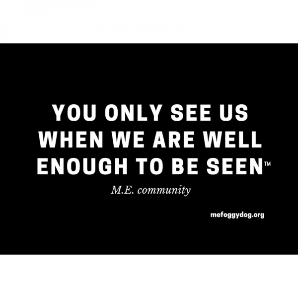 Sticker - You Only See Us