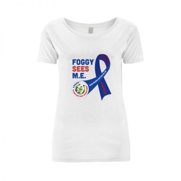'Foggy Sees M.E.' Ladies T-Shirt