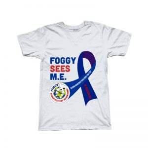 'Foggy Sees M.E.' V-Neck T-Shirt