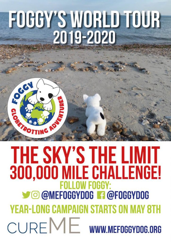 Foggy's World Tour 2019-2020: The Sky's the Limit - 300,000 Mile Challenge